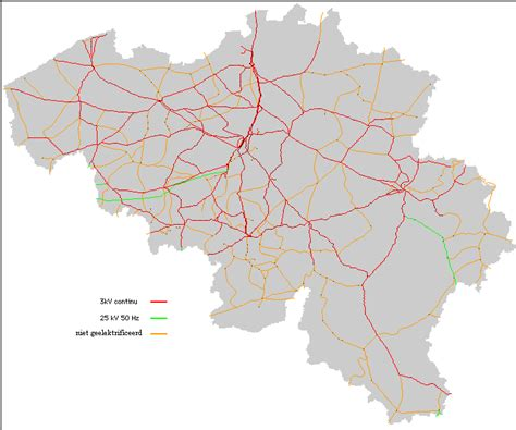belgian rail map rail network divided by area of country 1350 215 625 mapporn