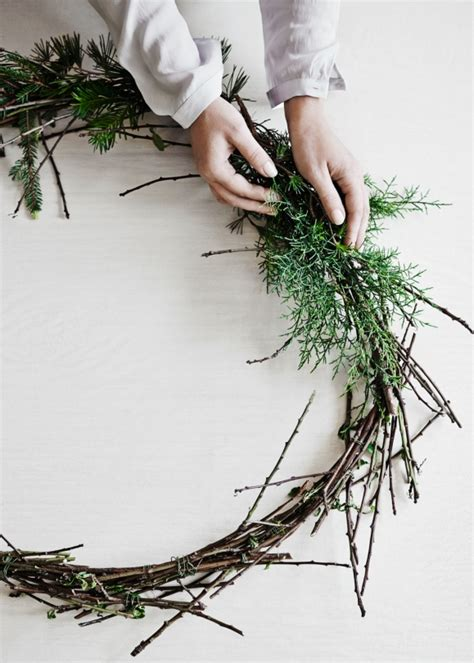 vogue living christmas wreath how to create your own wreath vogue living