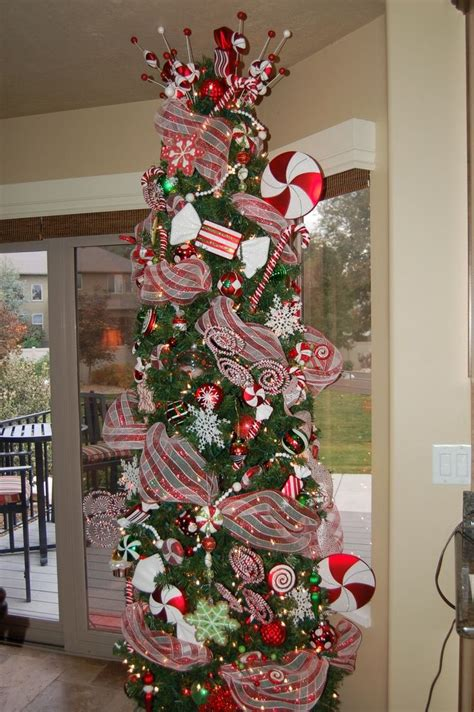 decrating a christmas tree with very thincurly ribbon kitchen tree decorations and tree
