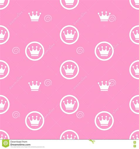 background pattern x theme princess seamless pattern background vector illustration