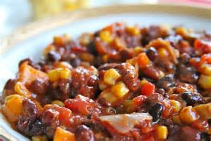 southwestern vegetarian chili double cornbread wine plum