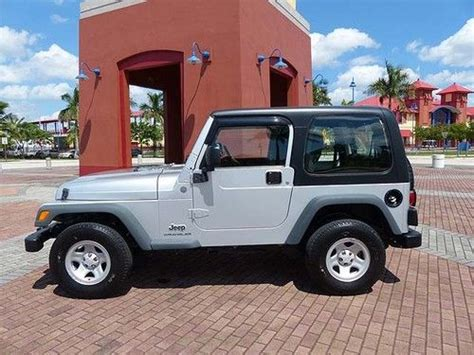 Jeep Wrangler Sport Automatic Transmission Purchase Used Right Drive Wrangler Sport 2004