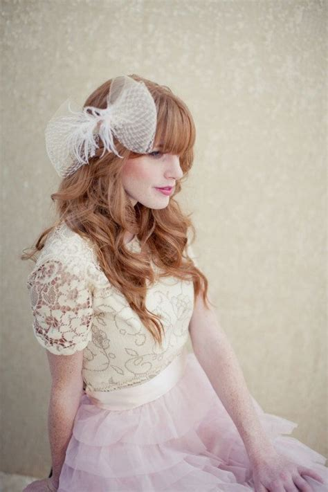 Wedding Hair Accessories Tulle by Bow Beautiful For Brides Onewed