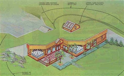 underground home plans designs passive annual heat storage