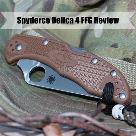 delica 4 ffg spyderco delica 4 ffg review the backyard pioneer