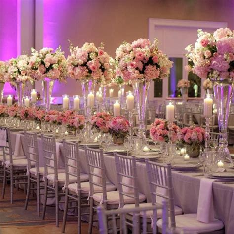 pink centerpieces 16 and dramatic wedding centerpieces preowned wedding dresses
