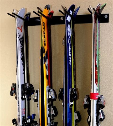 Ski Racks For Garage by Storage Rack Rack 4 8 Ski Snowboard Rack