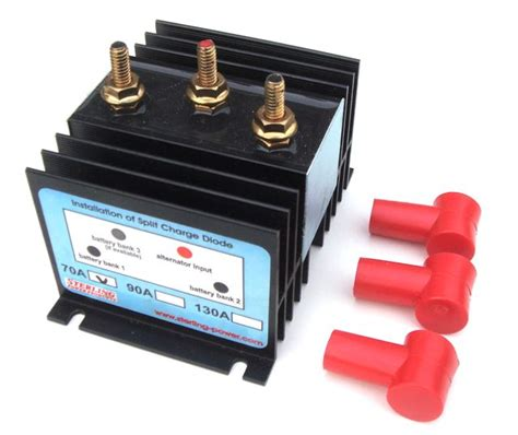how does a split charge diode work sterling split charge diode 70a
