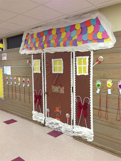 door decoration for christmas classroom decoration