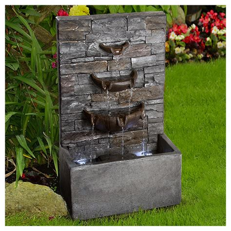 fuentes decorativas interior fuente decorativa cascada en http www homedepot mx