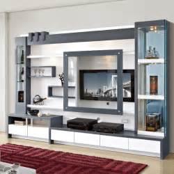 living room furniture wood lcd tv wall unit design buy