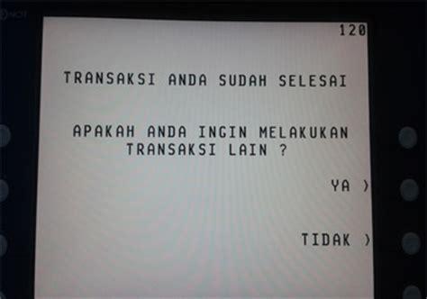 Dompet Kartu Nama Kartu Atm 002 cara transfer bca ke bri via atm disertai gambar