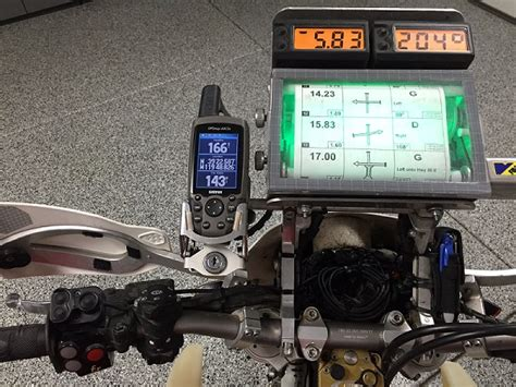 Motorrad Rally Navigation rally navigator