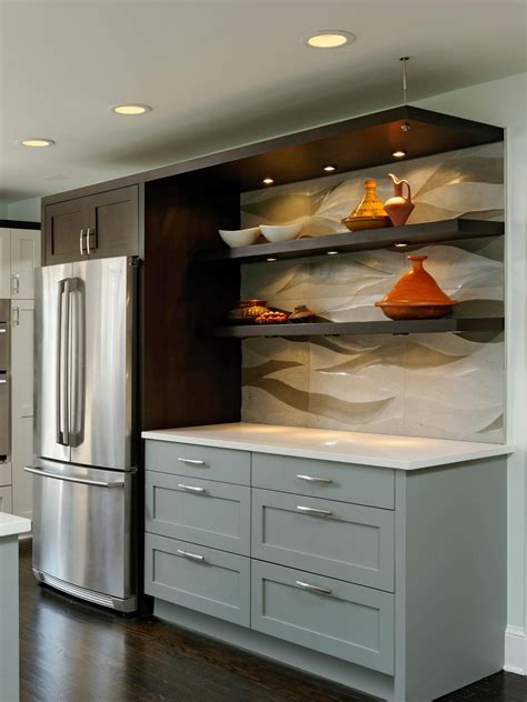 floating cabinets kitchen photos hgtv