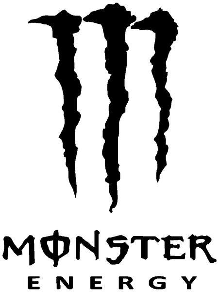 Monster Energy Sticker White by Monster Energy Stickers White Www Imgkid The Image