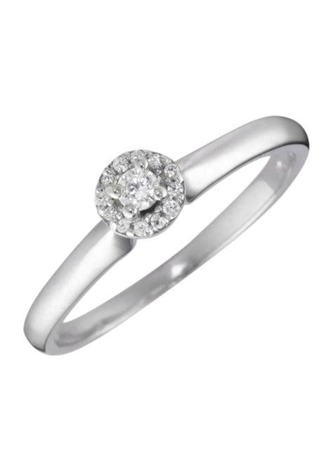 Wo Verlobungsring Kaufen by Firetti Ring Verlobungsring Vorsteckring Mit Diamanten