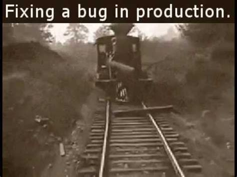 fixing a bug in a production youtube