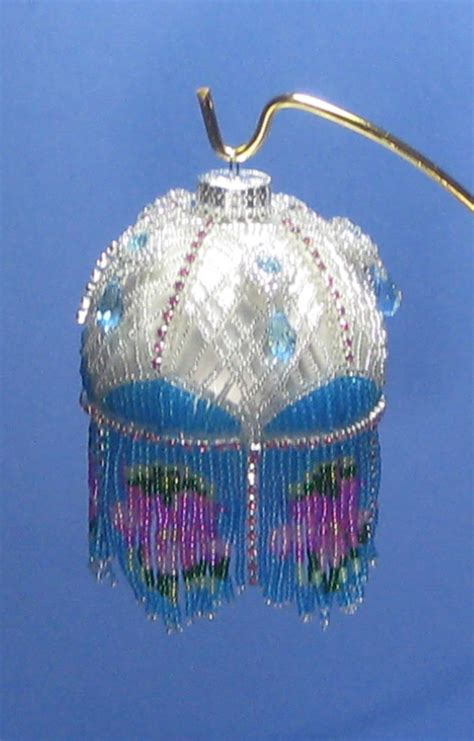 pattern christmas ornament beaded ornament pattern