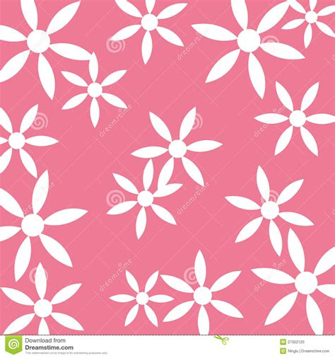 flower pattern on white background white flower pattern pink background stock photo image