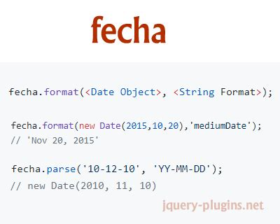 format date javascript parse fecha javascript date formatting and parsing library