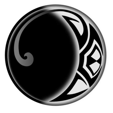 moon tattoo png tribal moon by kingkajuka on deviantart
