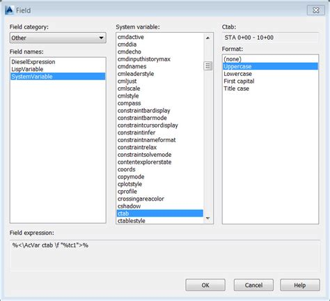autocad layout name variable autocad civil 3d tip automate sheet naming numbering from