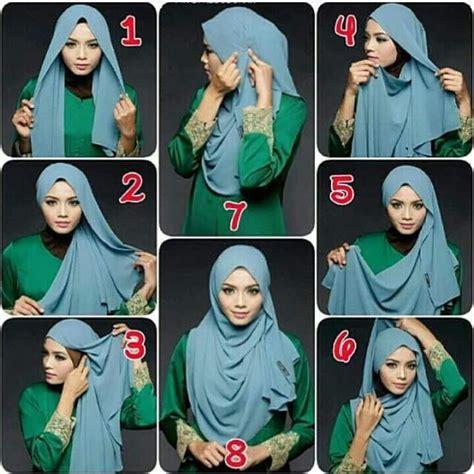 tutorial hijab menutup dada tutorial hijab menutup dada