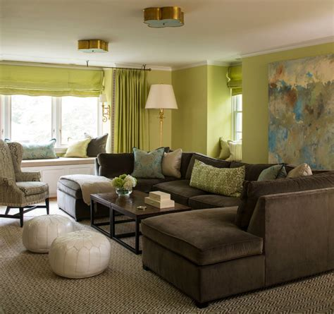 Green And Brown Living Rooms by Brown And Turquoise Living Room Design Decor Photos