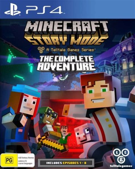 Kaset Ps4 Minecraft Story Mode The Complete Adventure minecraft story mode the complete adventure v 225 s 225 rl 225 s ps4 konzolok szervize