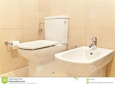 wc bidet nachrüsten toilet wc and bidet stock image image of contemporary