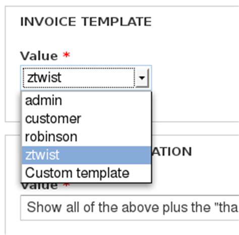 ubercart register invoice templates drupal org