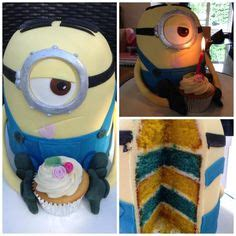 faeizas cakes minion rainbow butter cake with buttercream inside the minion cake rainbow butter cake layered with
