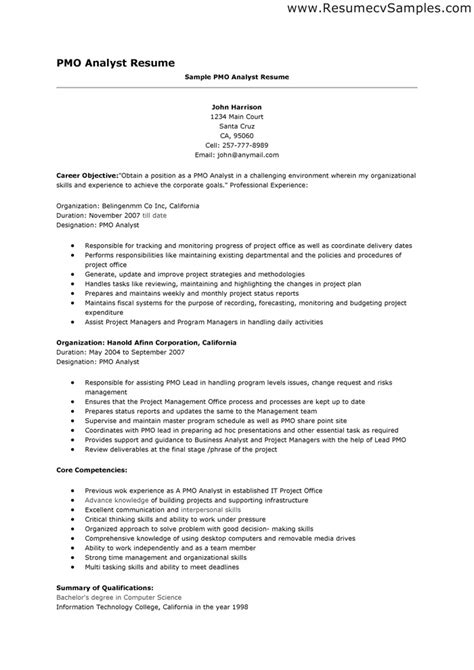 credit analyst resume exle exle of a credit analyst resume search