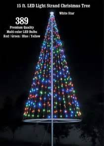 christmas tree light kit multicolor flags over america