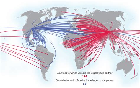 trade in four maps showing china s rising dominance in trade