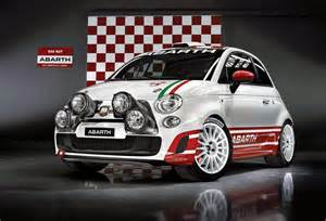 Abarth Auto Fiat Abarth 500 R3t Rally Car
