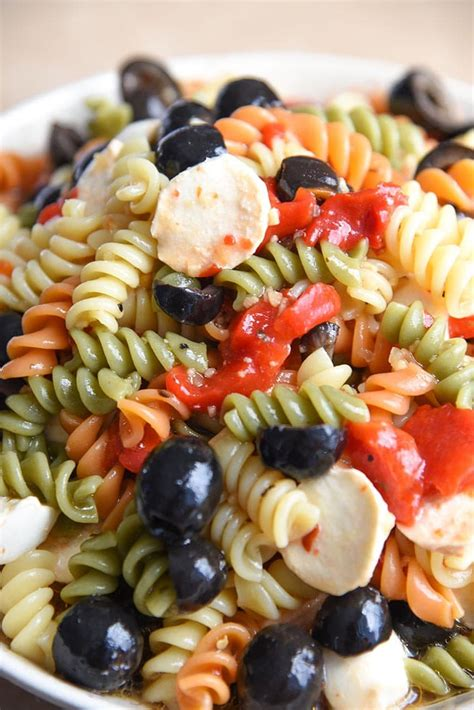 tri color pasta recipe tri color pasta salad recipe with mayo