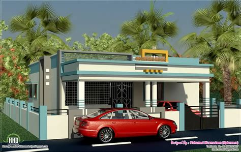 tamilnadu style single floor home design kerala home