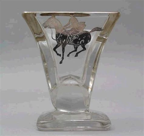 Small Vases For Sale by A Pair Of Polo Players Small Glass Vases For Sale