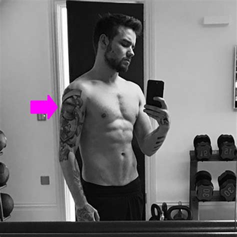 liam payne tattoo 2016 liam payne shows off mysterious shoulder tattoo in