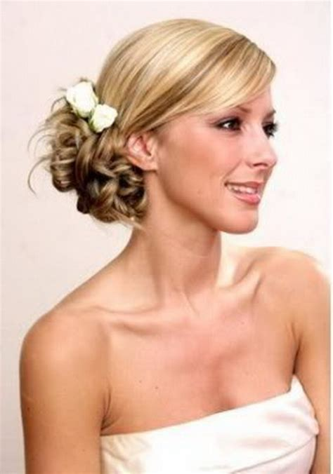 hairstyles to the side for bridesmaids hairstyle for bridesmaid long hair