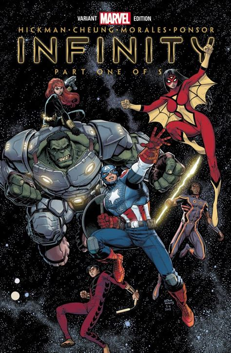 1 by infinity marvel s infinity event what we so far