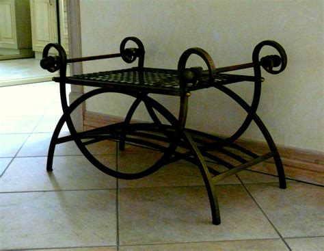 wrought iron benches indoor wrought iron in home decor l essenzialel essenziale