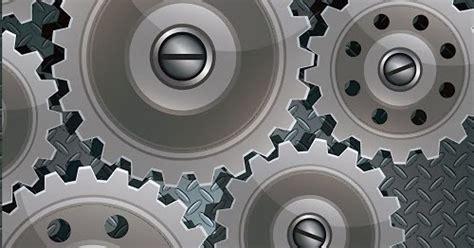 desain grafis um pusat desain grafis 3d gear vector