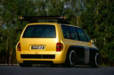 renault espace f1 throwback thursday 1995 on board the renault espace f1