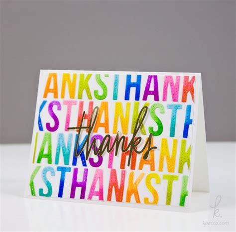 Zig Ziglar Thank You Letter diy rainbow letter die cut thank you card with zig clean