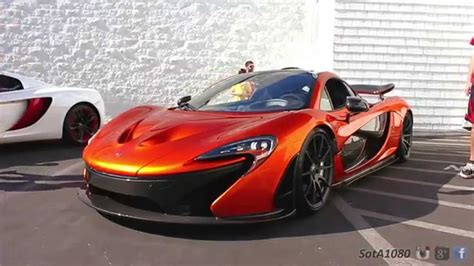 orange mclaren volcano orange mclaren p1 youtube