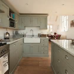 Painted Kitchen Ideas by Green Painted Kitchen Decorating Ideas Housetohome Co Uk