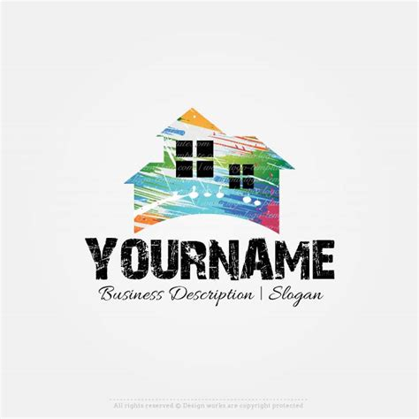 create    home painting logo design