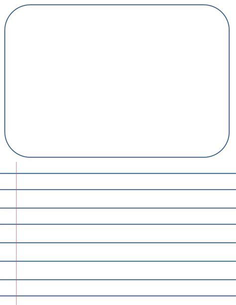 printable 2nd grade writing paper 2nd grade blank writing sheets penmanship paperletter